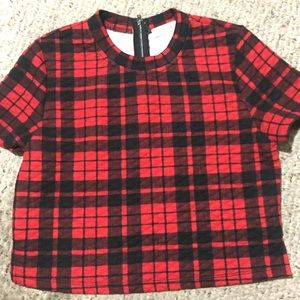 Re:named From Shopbop Quilted Plaid Shirt Size Lrg